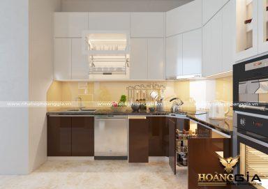 Giải đáp: Vì sao nên chọn tủ bếp gỗ Acrylic cao cấp?