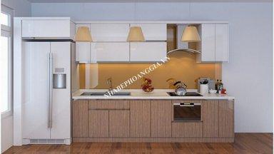 Tủ bếp gỗ công nghiệp có tốt không?