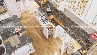Tìm hiểu tủ bếp hiện đại bao gồm những phụ kiện gì? Giá thành như thế nào?
