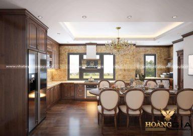 Dự án thiết kế và thi công tủ bếp nhà anh Tuấn (Ba Đình, Hà Nội)