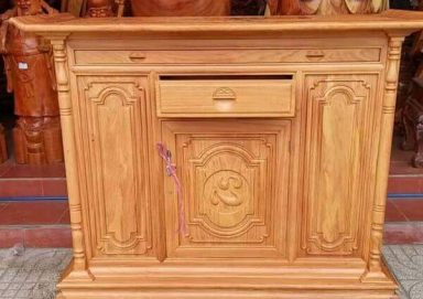 Mẫu bàn thờ gỗ gụ 02