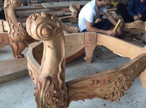 Xưởng sản xuất nội thất tân cổ điển uy tín chuyên nghiệp tại Hà Nội