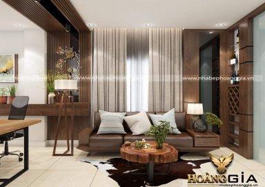 Mẫu thiết kế phòng khách hiện đại PKHD13